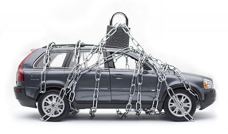 Арест на автомобиль