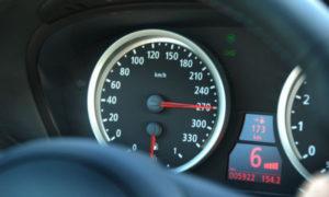 Превышение скорости на  км в час