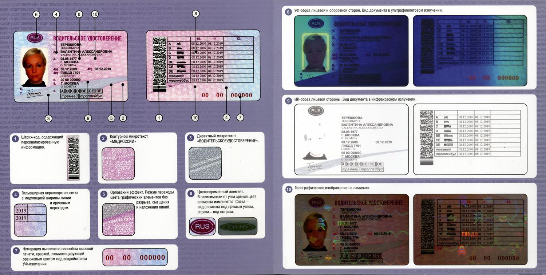 Водительское удостоверение (кликнуть для увеличения)