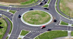 Дорожные знаки при въезде на кольцо