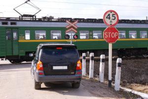Нарушение правил на железноц дороге