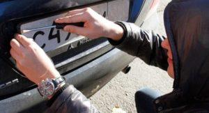 Замена номеров на машину в ГИБДД