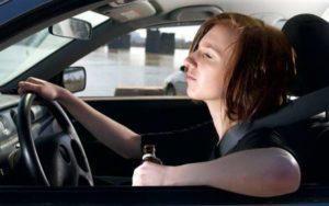 Вождение авто несовершеннолетним