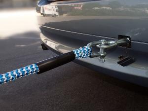 Транспортировка на жесткой сцепке без водителя