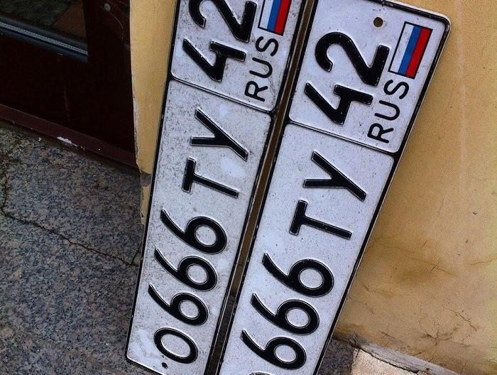 Перерегистрация машины без смены номеров