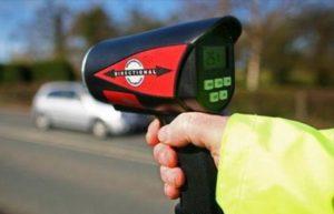 Размеры штрафов ГИБДД за превышение скорости