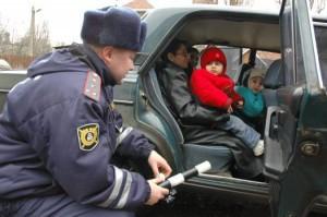 Какой штраф за отсутствие детского кресла