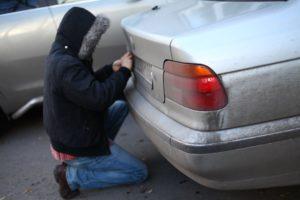 Если украли номер с автомобиля