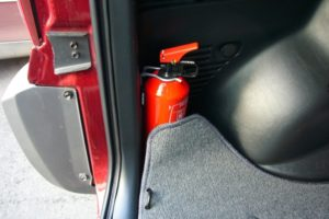 Штраф за отсутствие огнетушителя в автомобиле