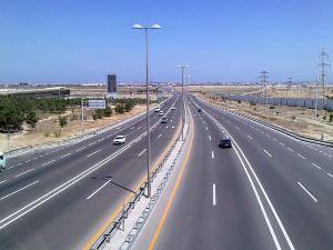 Скоросной режим по автомагистрале