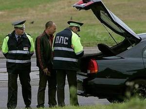 Процедура проведения досмотра авто сотрудником ДПС