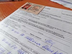 Как написать заявление на замену водительского удостоверения?